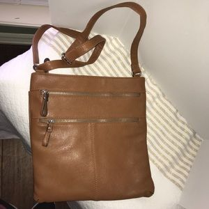 Merona crossbody tan purse, NWOT.